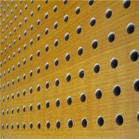 Cheap KTV Perforated Wood Acoustic Panels MDF Soundproof Acoustic Board for sale