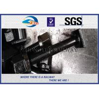 Cheap High Quality Railway Square Head Bolts,nuts and washer with Grade 10.9 material for sale