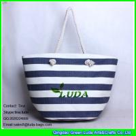 Cheap LUDA online buy wholesale womens handbag striped paper straw shopping bag for sale