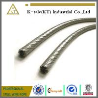 Cheap Plastic Coated PE PVC Covered Stainless Steel Rope for sale