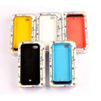 Cheap Ultra-Thin 2200mah Li-polymer IPhone5 Backup Battery Case For IPhone5S / 5C for sale