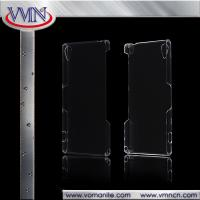 Cheap Crystal PC Hard Cover Case For Sony xperia z5 clear transparent tough case for sale