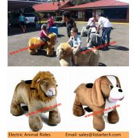 China Children Scooter Ride on Horse Animal Toy Car Animal Rides for Game Center Amusement Park on sale