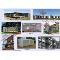 Cheap Modern Environmental Foldable Prefab Container House Multi-functional Mobile House Easy Assemble for sale