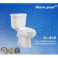 Cheap Sanitary Ware Two-Piece Ceramic Washdown Toilet (CL-018) for sale