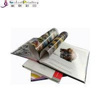 Cheap Colorful  Square Hardcover Book Printing Services Film Lamination OEM Service for sale