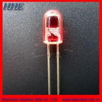 Cheap 5mm Red Round Without Flange LED Diode (diffused) for sale