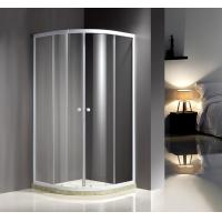 Cheap White Quadrant Curved Corner Shower Enclosure Convenient Comfort Free Standing Type for sale