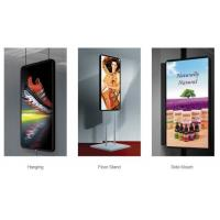 Cheap Portable Digital Led Poster Screen , Advertising IP31 Slim Light Weight Box for sale