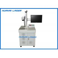 Cheap CE FDA Certified Fiber Laser Marking Machine For Stainless Steel / Anodized Aluminium for sale