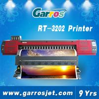 Quality digital vinyl printer 3.2m pvc flex banner printer machine with dx7 head wholesale