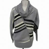Cheap Bia Overlapped Pullover Sweater, Made of 60% Mohair and 40% Acrylic for sale