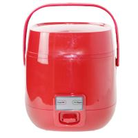 Cheap 110V Mini Steam Rice Cooker Red Color  1.2L Small Capacity Stainless Steel Material for sale