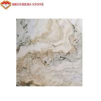 Cheap Transparent Onyx Marble Landscape Painting White Marble Stone For Home for sale