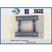 Standard BS100A Railway Fish Plate For Rail Fastener / Rail Joint Bar