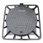 Cheap En124 Ductile Iron Manhole Cover (850X850mm) (DN600) for sale