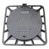Quality En124 Ductile Iron Manhole Cover (850X850mm) (DN600) wholesale