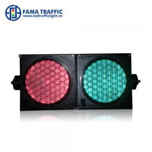 Cheap HighBrightness 100mm Traffic Light , Dust Resistantance LED Traffic Signal Lights for sale
