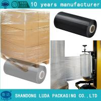clients demand Clear LLDPE Stretch Film pre stretch 280% jumbo roll