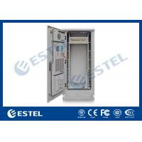 "China Professional PDU IP55 Outdoor Telecom Cabinet Grey Color 1800X900X900 mm, 19"" Waterproof Double Wall Heat Insulation on sale"