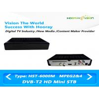 Cheap Full HD MPEG 4 CAS DVB T2 Set Top Box Digital Terrestrial Receiver With Smart Card for sale
