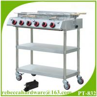 Cheap Portable stainless steel gas barbecue grill for sale