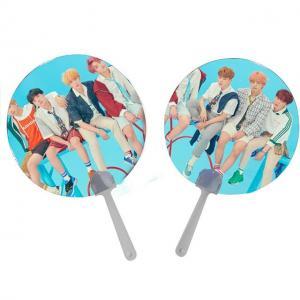 Cheap 0.6mm PET Lenticular 3D Moving Fan BTS EXO Of Super Stars for sale