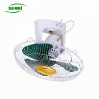 China 16 Inch Orbit Ceiling Fan 12v Dc High Revolution Speed With Decorative Plate on sale