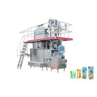 China Automatic Aseptic Liquid Juice Filling Machine for Carton 200 - 250ml on sale