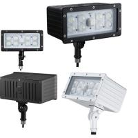 Cheap Industrial Commercial Outdoor LED Flood Light Fixture 45W 100Lm/w Kunckle Installation for sale