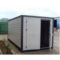 China prefab storage modular warehouse sandwich panel container houses on sale