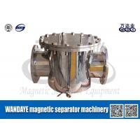 Pipeline Iron Remover Magnetic Separator Machine For Food Processing
