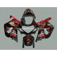 Custom Motorcycle ABS Fairings SUZUKI GSXR 600 K1 2001-2003