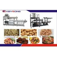 Buy cheap Twin Screw Extruder Textured Soya Protein Meat Making Machine Extrusion from wholesalers