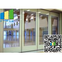 Cheap 3.35 Inch Paired Sliding Folding Glass Room Partitions Singapore for sale