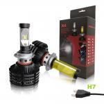 Cheap HB2 / HB3 Led Car Headlight Bulbs , Brightest Led Headlight Bulbs for sale