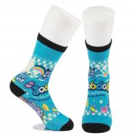 Breathable Eco - Friendly 3D Printed Socks For Adults Custom Made Size