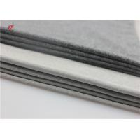 China Gray Colour 240GSM Polyester Spandex Melange Stretch Fabric For Underwear Leggings Yoga fabric on sale