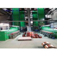 China Vertical Super Enamel Coating Machine For Copper Wire Stripping 24 Lines 0.80-2.5mm on sale