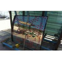 Cheap 3mm Insulated Curved Safety Glass With Hole  for sale