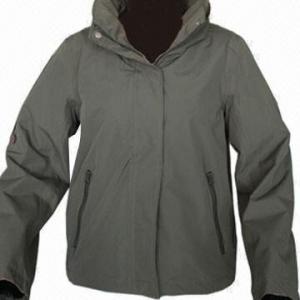 Cheap Women's Outdoor Jacket, Army Green/Dark Navy, Windbreaker, Softshell Jacket, Waterproof, Breathable for sale