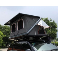 Cheap Half Automatic Z Shaped Hard Shell Roof Top Tent for sale