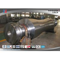 Buy cheap Super Steel Steam Turbine Rotor Forging , Mechanical Wind Turbine Main Shaft from wholesalers