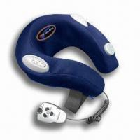 Cheap Electronic Neck Massager with Cyber Controller and 100% Terylene Fabric Cover for sale