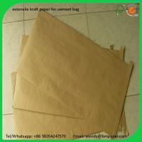 Cheap BMPAPER kraft liner,kraft paper for wrapping,kraft liner paper korea  for cement bags for sale