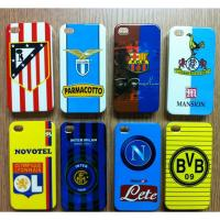 Cheap Durable Metal Football Club Team Hard Back iPhone 4S Protective Cases for sale