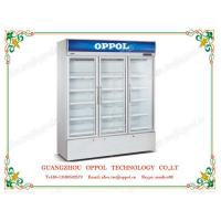 Cheap OP-1102 CE Certificate Stainless Steel Body Material Beverage Display Refrigerator for sale
