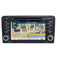In Dash Car Navigation Systems : In dash auto stereo car multimedia navigation system audi