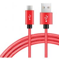 Cheap 1m 2m 3m Usb To Micro Usb Charging Cable Copper Nylon Braided Type C Technology for sale