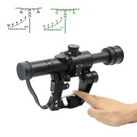 Cheap Hunting Optical Sight Rifle scope, Sniper scope AK 4X26 SVD for sale